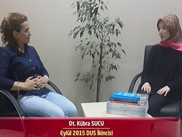 2015 DUS İkincisi Dt. Kübra SUCU ile DUS'a Hazırlık Süreci