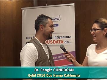Dt. Cengiz GÜNDOĞAN - 2016 DUS Kampı Röportajları