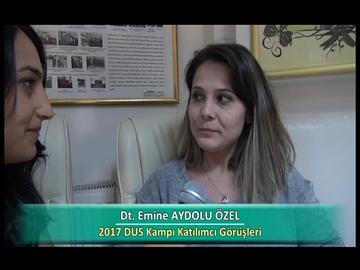 Dt. Emine AYDOLU ÖZEL - 2017 DUS Kampı Röportajları