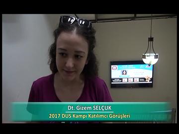 Dt. Gizem SELÇUK - 2017 DUS Kampı Röportajları