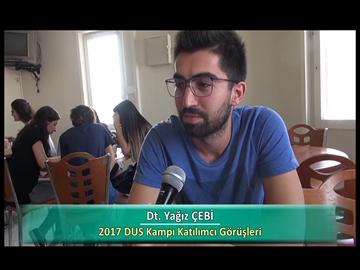 Dt. Yağız ÇEBİ - 2017 DUS Kampı Röportajları