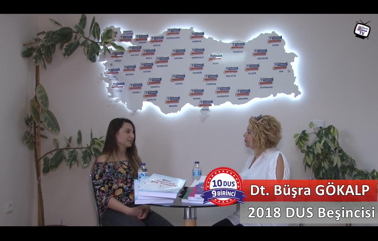 2018 DUS Beşincisi <br> Dt. Büşra GÖKALP ile DUS'a Hazırlık Süreci