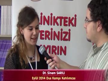 Dt. Sinem SARILI - Eylül 2014 DUS Kampı Katılımcı Röportajları