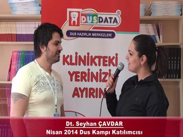Dt. Seyhan ÇAVDAR – Nisan 2014 DUS Kampı Röportajı