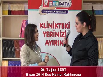 Dt. Tuğba SERT – Nisan 2014 DUS Kampı Röportajı